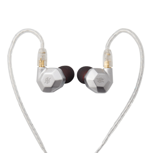 Apos Audio TENHZ | 十赫兹 Earphone / In-Ear Monitor (IEM) TENHZ K5 In-Ear Monitor (IEM) Earphones Silver