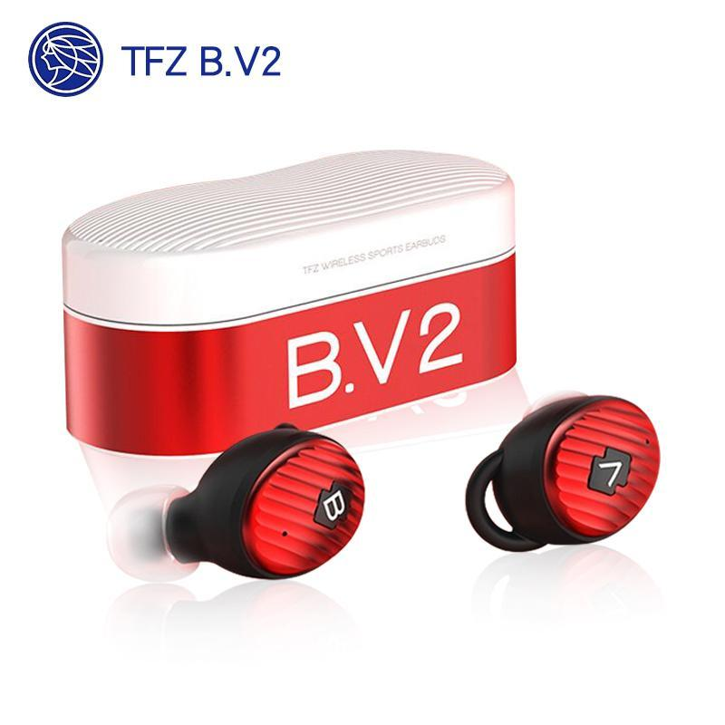 Apos Audio TFZ | 锦瑟香也 Earphone / In-Ear Monitor (IEM) TFZ B.V2 Bluetooth Wireless In-Ear Monitor (IEM) Earphones Red