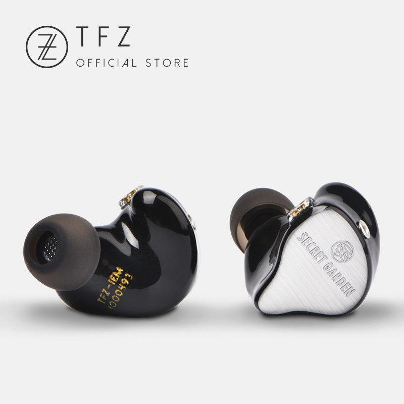 Apos Audio TFZ | 锦瑟香也 Earphone / In-Ear Monitor (IEM) TFZ Secret Garden In-Ear Monitor (IEM) Earphones Black