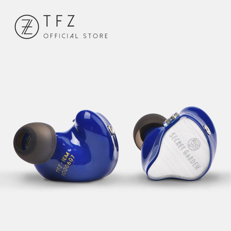 Apos Audio TFZ | 锦瑟香也 Earphone / In-Ear Monitor (IEM) TFZ Secret Garden In-Ear Monitor (IEM) Earphones Blue
