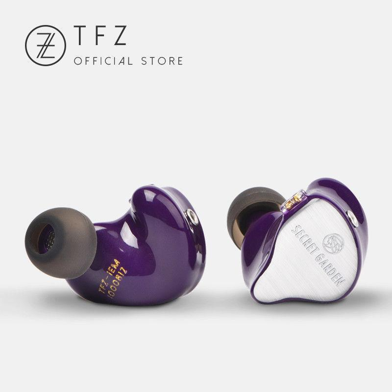 Apos Audio TFZ | 锦瑟香也 Earphone / In-Ear Monitor (IEM) TFZ Secret Garden In-Ear Monitor (IEM) Earphones Purple