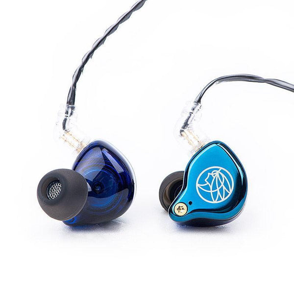 Apos Audio TFZ | 锦瑟香也 Earphone / In-Ear Monitor (IEM) TFZ T2 Galaxy In-Ear Monitor (IEM) Earphones Blue