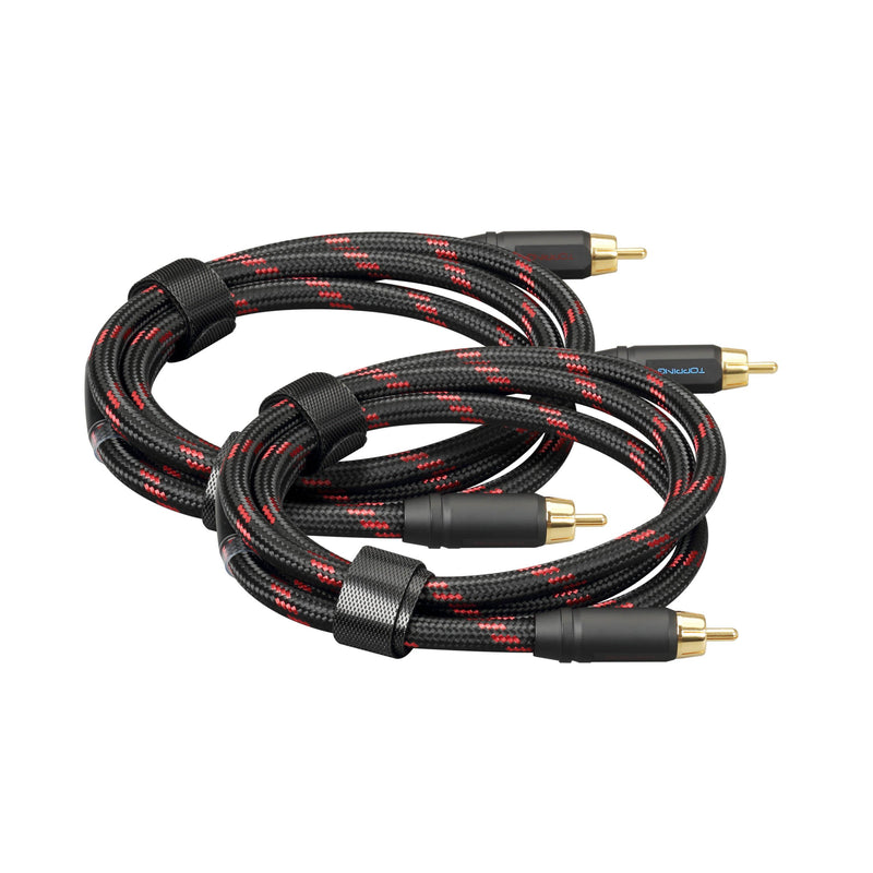Apos Audio TOPPING Cable TOPPING TCR2 6N Single Crystal Copper RCA Cables