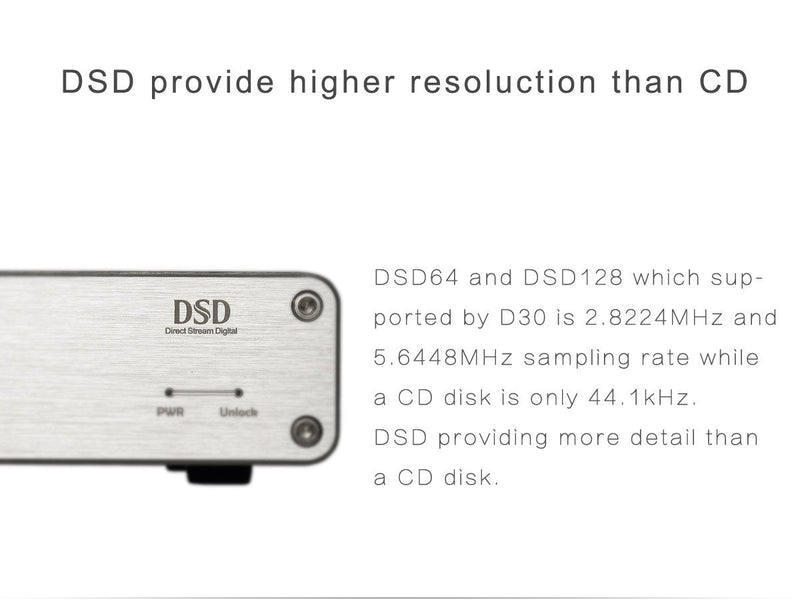 Apos Audio TOPPING | 拓品 DAC (Digital-to-Analog Converter) TOPPING D30 DSD DAC (Digital-to-Analog Converter)