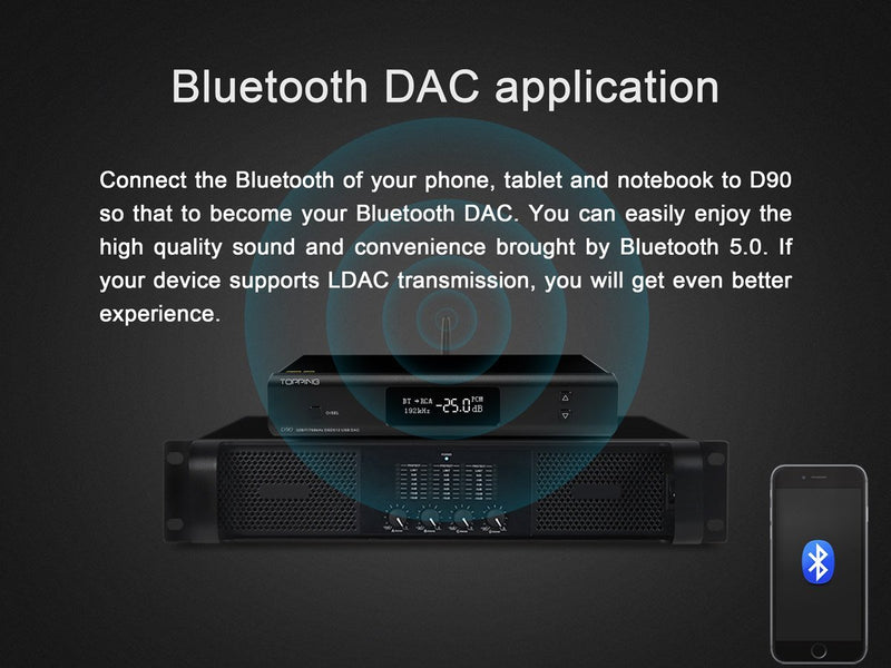 Apos Audio TOPPING | 拓品 DAC (Digital-to-Analog Converter) TOPPING D90 DAC (Digital-to-Analog Converter)