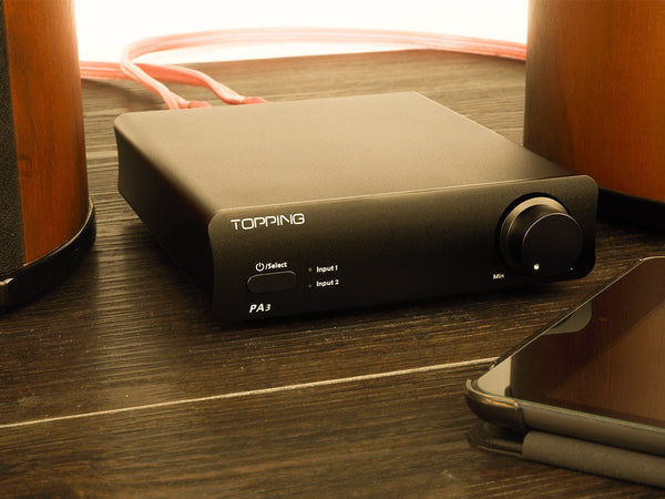 Apos Audio TOPPING | 拓品 Headphone Amp TOPPING PA3 Stereo Amplifier