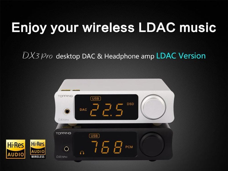 Apos Audio TOPPING | 拓品 Headphone DAC/Amp TOPPING DX3 Pro LDAC DAC/Amp