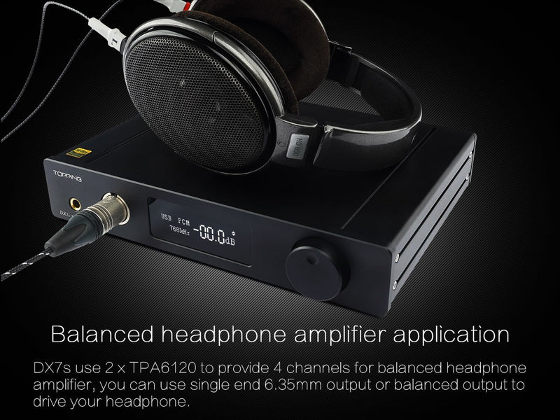 Apos Audio TOPPING | 拓品 Headphone DAC/Amp TOPPING DX7s DAC/Amp