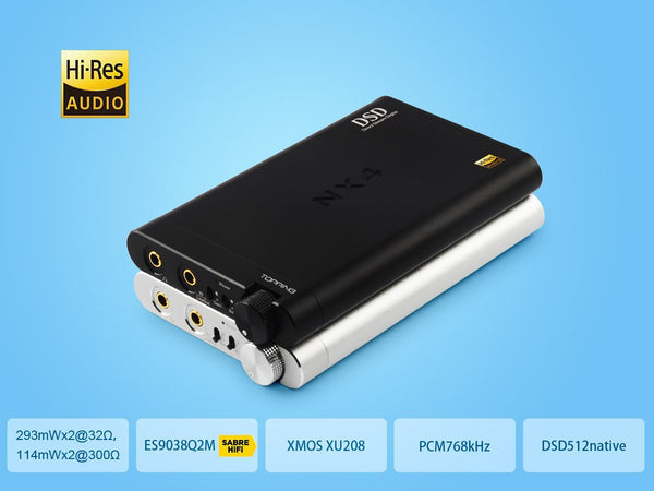 Apos Audio TOPPING | 拓品 Headphone DAC/Amp TOPPING NX4 DSD DAC/Amp