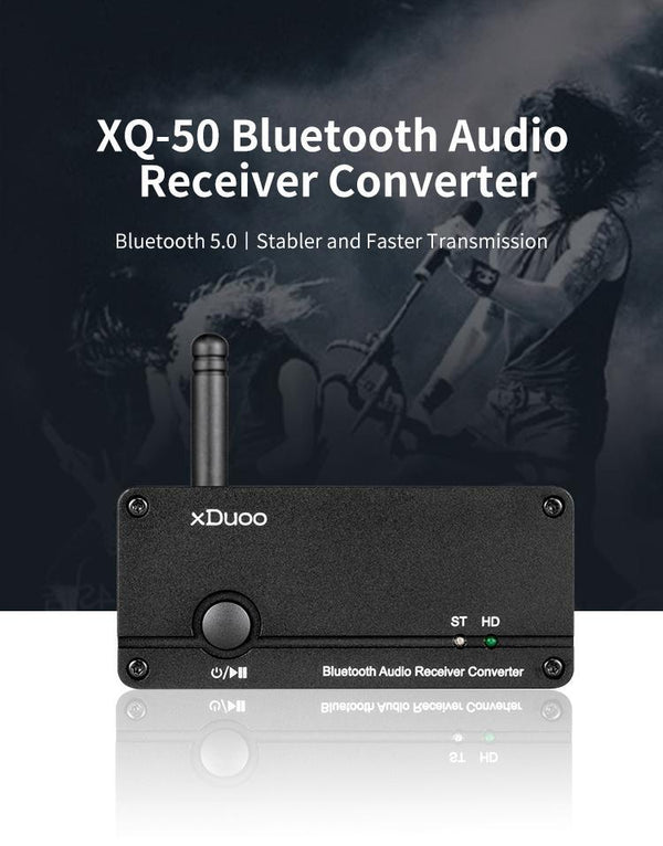 Apos Audio xDuoo | 乂度 DAC (Digital-to-Analog Converter) xDuoo XQ-50 Bluetooth DAC