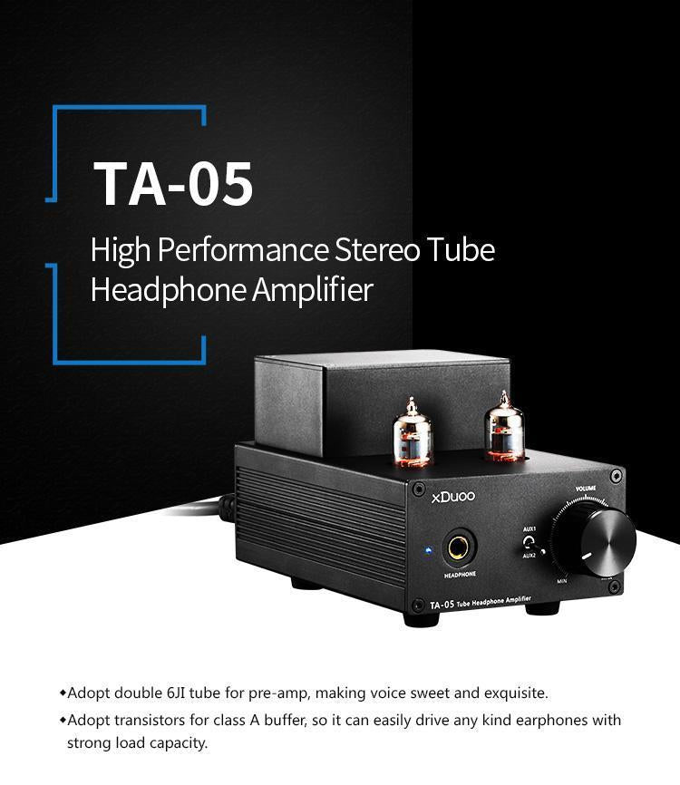 Apos Audio xDuoo | 乂度 Headphone Amp (Tube) xDuoo TA-05 Tube Amplifier