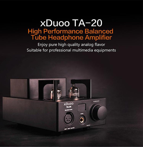 Apos Audio xDuoo | 乂度 Headphone Amp (Tube) xDuoo TA-20 Tube Amp
