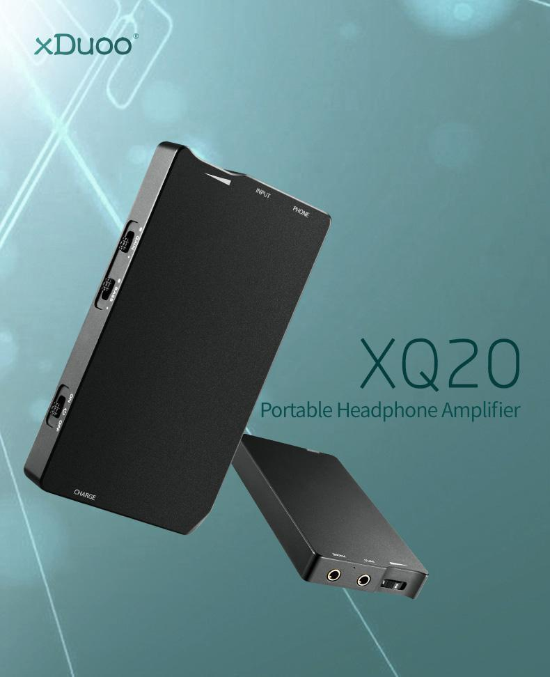 Apos Audio xDuoo | 乂度 Headphone Amp xDuoo XQ-20 Headphone Amp