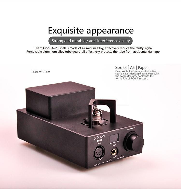 Apos Audio xDuoo | 乂度 Headphone DAC/Amp xDuoo TA-10 Tube DAC/Amp