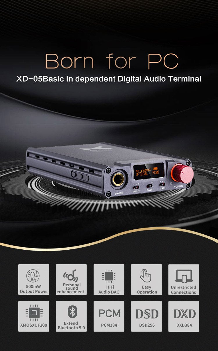 Apos Audio xDuoo Headphone DAC/Amp xDuoo XD-05 Basic DAC/Amp