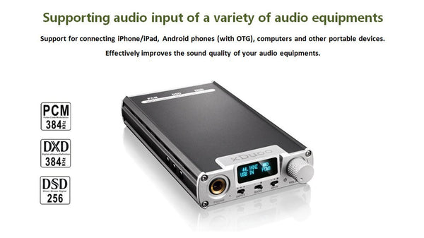 Apos Audio xDuoo | 乂度 Headphone DAC/Amp xDuoo XD-05 DAC/Amp
