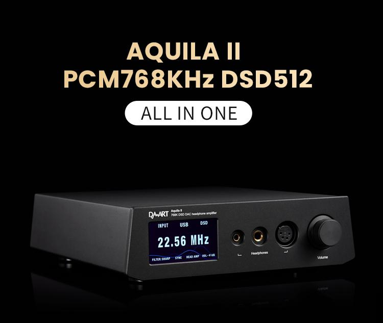 Apos Audio Yulong Headphone DAC/Amp Yulong Aquila II DAC/Amp