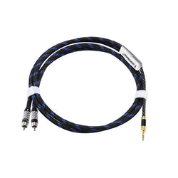 Apos Audio ZY Cable ZY 3.5mm to AV RCA Audio Adapter ZY-022 Cable 1m