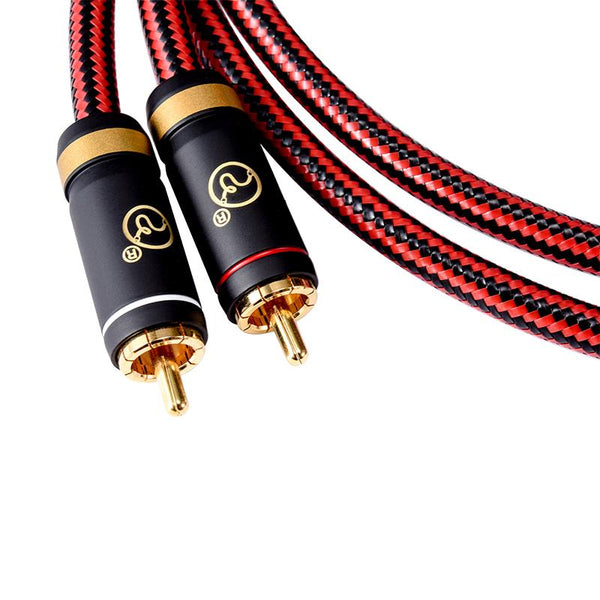 Apos Audio ZY Cable ZY Double Lotus Head RCA ZY-392 Cable