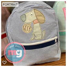 Load image into Gallery viewer, Gray Chambray Backpack