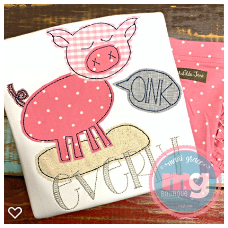Pink with Oink Design