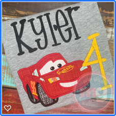 Lightening McQueen Design