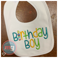 Personalized Bib