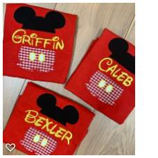 Split Mickey Design