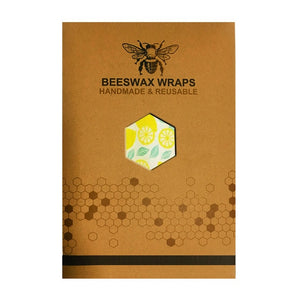 Organic Cotton Beeswax reusable Food Covers