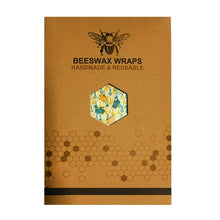 Load image into Gallery viewer, Organic Cotton Beeswax reusable Food Covers