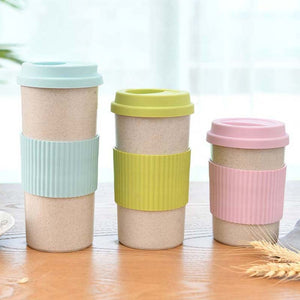 Travel Mugs - Coffee, Tea or Beverage Mug. Eco Friendly and Reusable with Nature inspired prints.