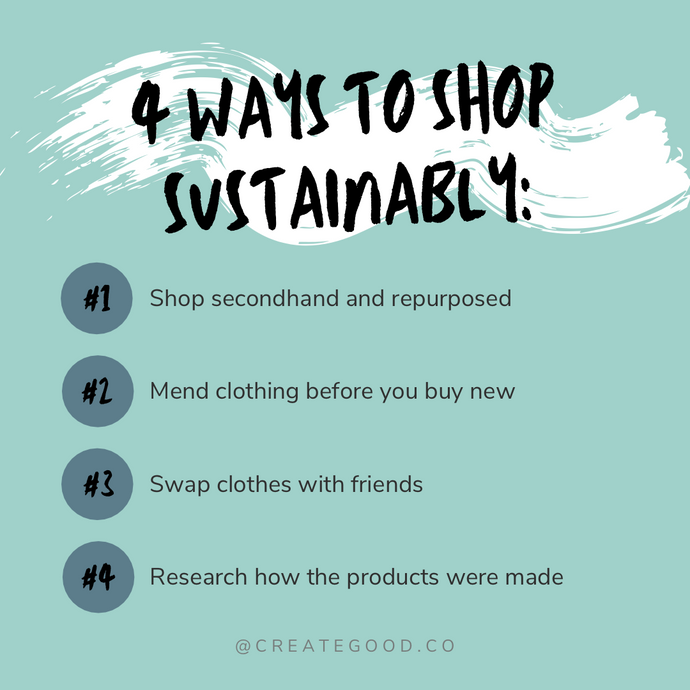 4 Ways to Shop Sustainably
