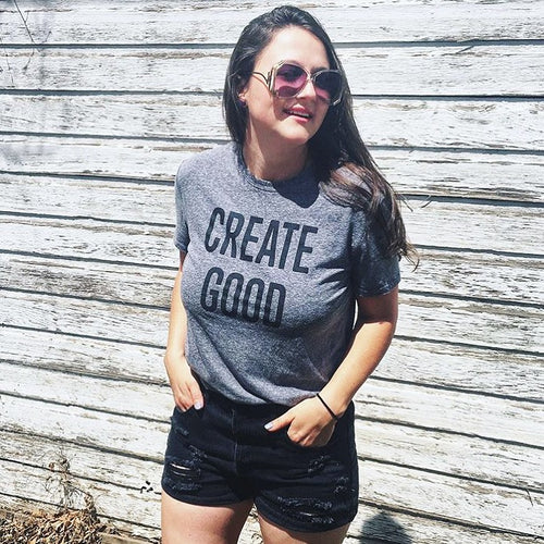 Classic Create Good Tee