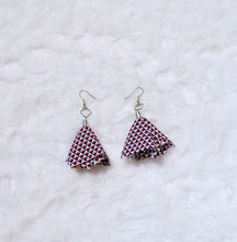 Load image into Gallery viewer, Fabric Dangle Earrings - Small