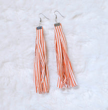 Load image into Gallery viewer, Fabric Dangle Earrings - Medium