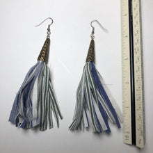 Load image into Gallery viewer, Fabric Dangle Earrings - Large