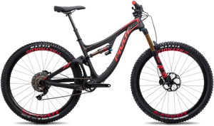 Ex Demo Switchblade Carbon Large Black/Red: Pro XT/XTR build with Carbon Wheels