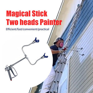 Magical Stick Two heads Painter-Spray twice as fast!