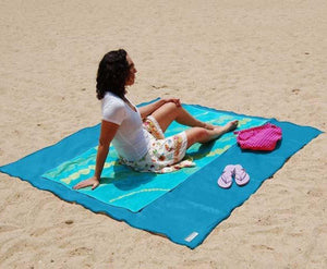 Water And Sand Proof Beach Mat