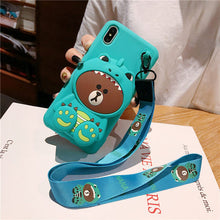 Load image into Gallery viewer, 【Hot Sale Today! Up to 50% Discount!】Cartoon Storage Phone Case For iPhone