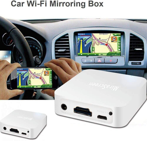 Phone to TV/Car Screen Car WiFi Display Box Mirror