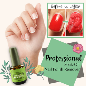 Professional Soak-Off Nail Polish Remover