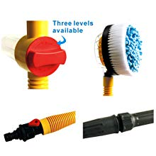 Car Wash Brush,automotive cleaning Non-Electric Automatic 360 Degree, Garden Sprinkling Tool Used for truck Window
