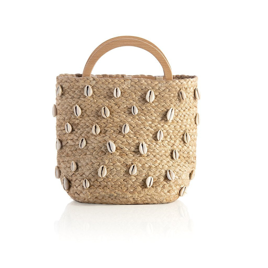 CARA TOP HANDLE BUCKET BAG,NATURAL