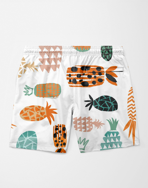 Crazy Pineapples Shorts