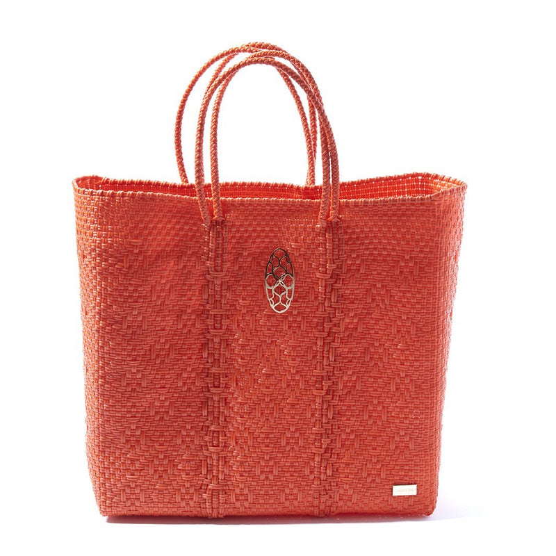 MEDIUM ORANGE TOTE BAG