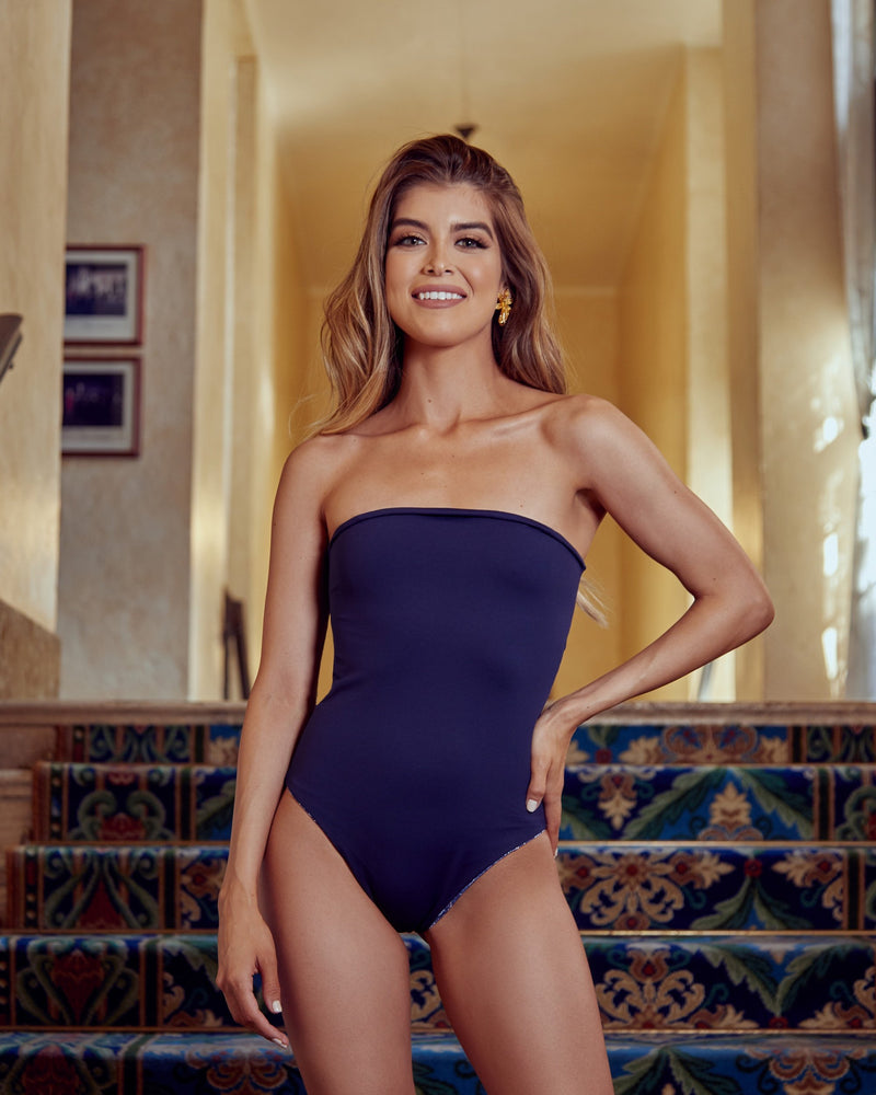 Juliette Reversible One Piece - Greca