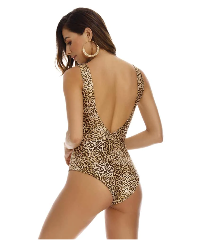 Leopard Reversible One Piece