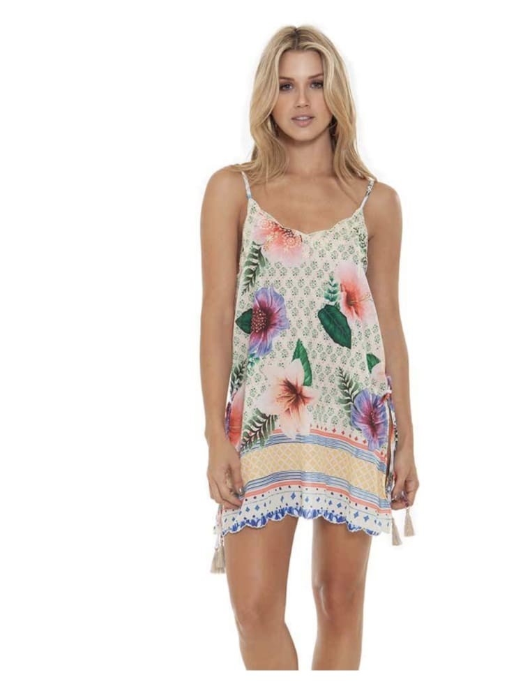 Agua Bendita Felicia Pastel Tropic Dress - DRESS