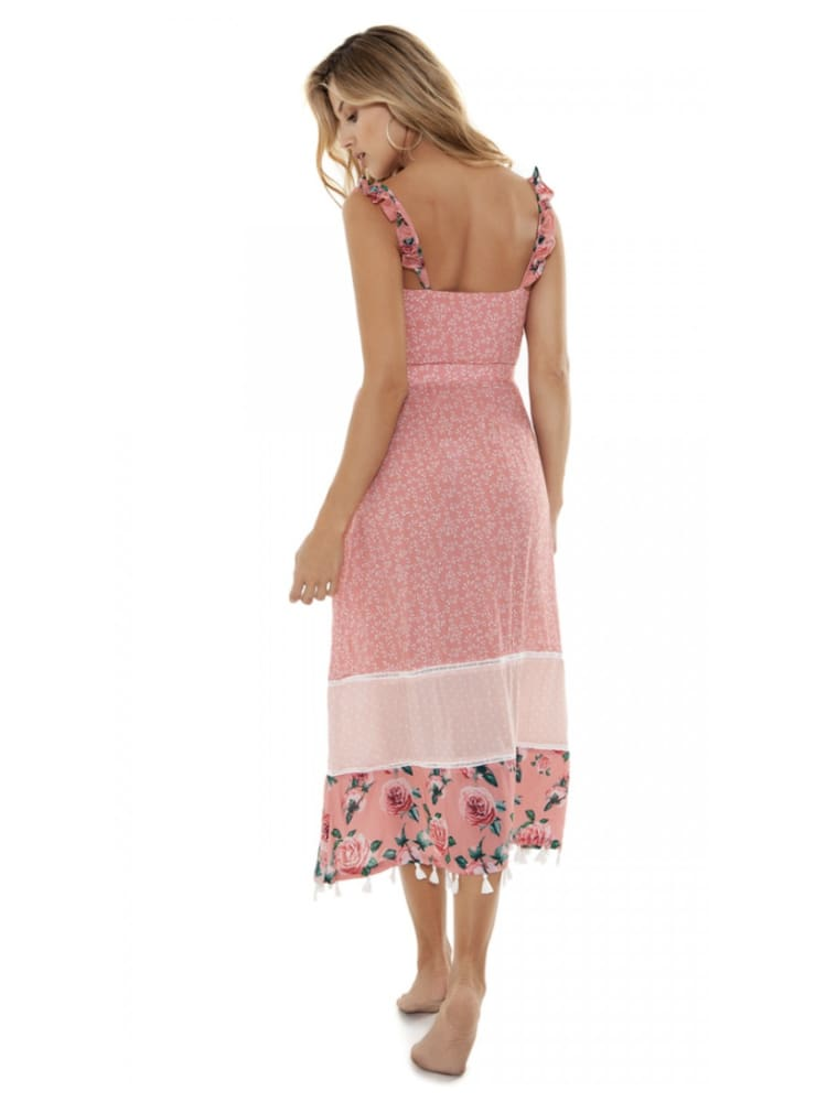 Agua Bendita Karen Cotton Candy Dress - DRESS
